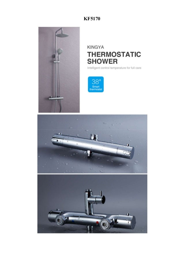 Kingya thermostatic faucet introduction