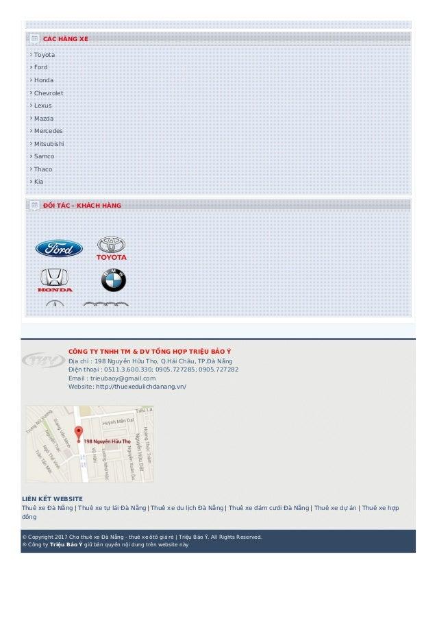 CÁC HÃNG XE Toyota Ford Honda Chevrolet Lexus Mazda Mercedes Mitsubishi Samco Thaco Kia ĐỐI TÁC - KHÁCH HÀNG CÔNG TY TNHH ...