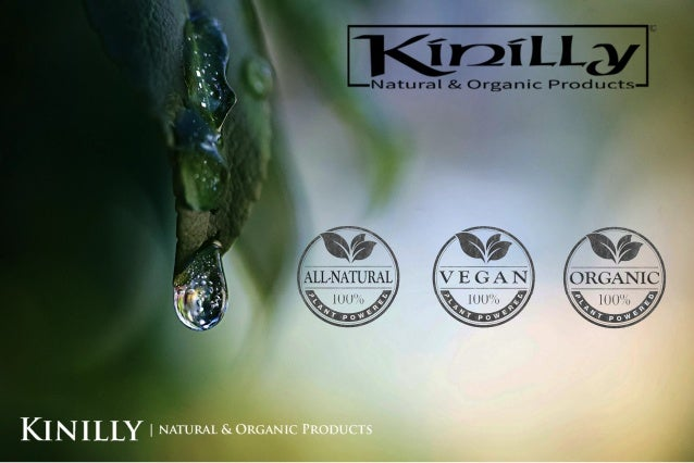 Kinilly natural & organic products made in the usa