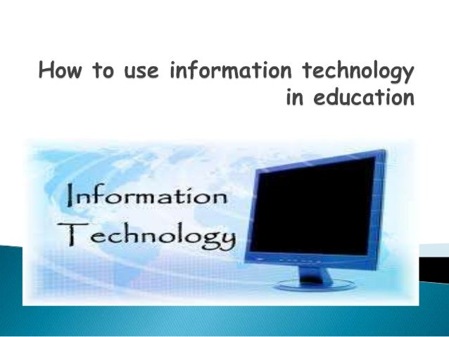 information technology sophistication and knowledge utilization (2002), regardless of the amount of technology and its sophistication, technology will not be used unless faculty members have the skills, knowledge and attitude necessary to infuse it into the curriculum.