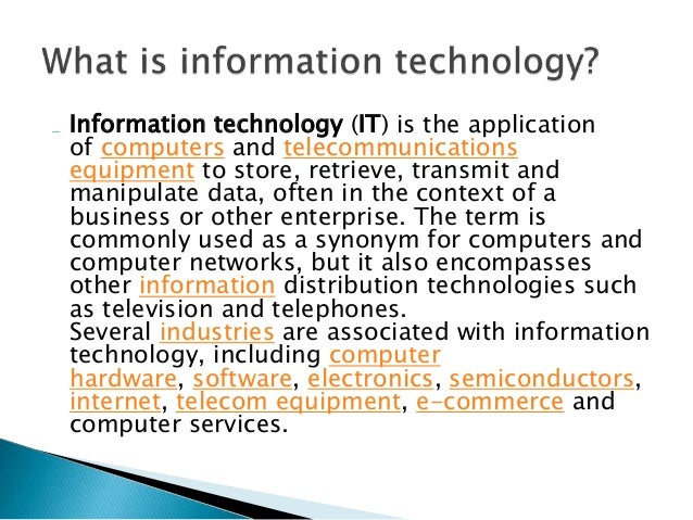 How to use information technology in education?