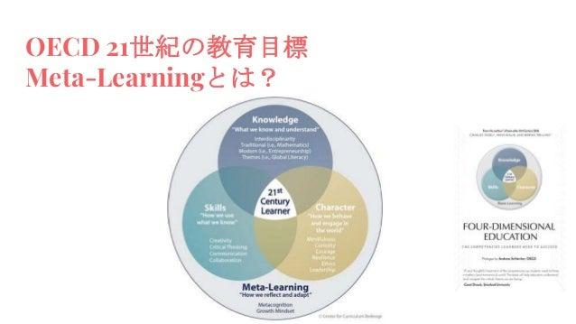 OECD 21世紀の教育目標 Meta-Learningとは?