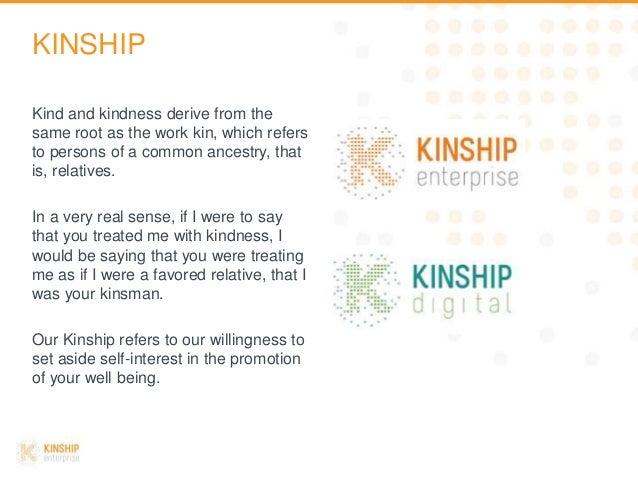 KINSHIP enterprise Company Overview Slide 2