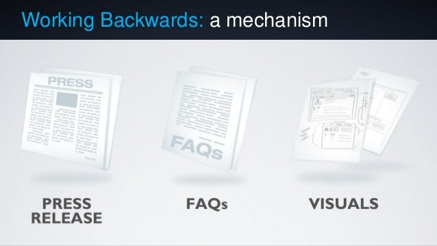Working Backwards: a mechanism