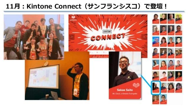 17 11月:Kintone Connect(サンフランシスコ)で登壇!