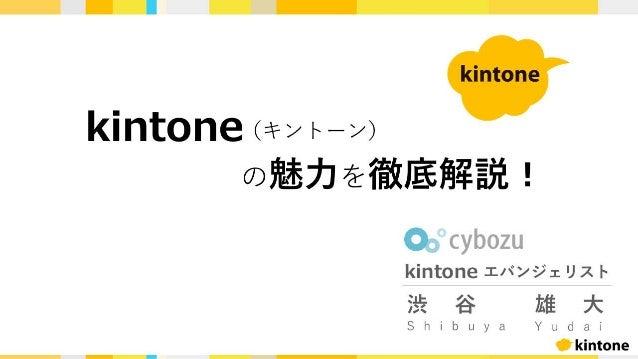 kintoneの魅力を徹底解説! & ユーザー企業が伝える導入の壁を越えるための3ステップ