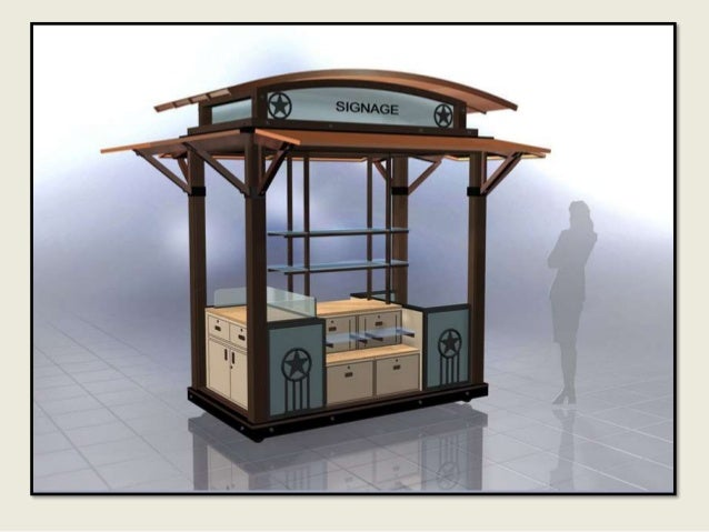 Kiosks design for Architecture kiosk design