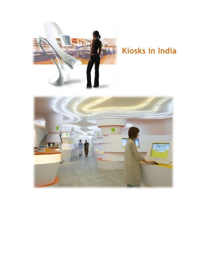 Kiosks in India