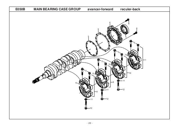 Kioti daedong dk50 c tractor parts catalogue manual