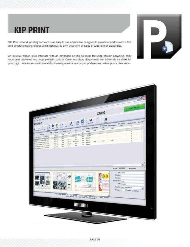KIPC - Wide format LED printer