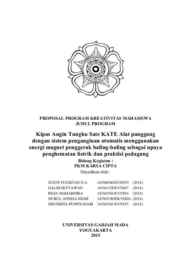 Pkm Kc Kipas Angin Tungku Sate Kate