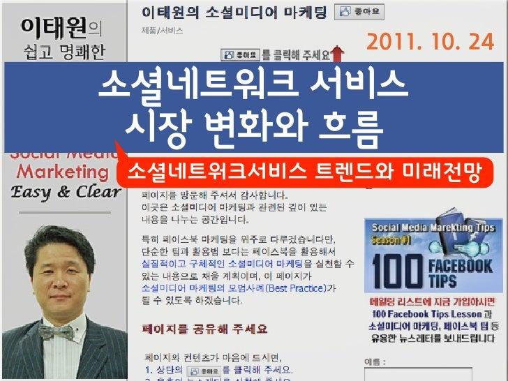 Global : Social MediaKorea : 소셜미디어                출처 : Google Insight Search