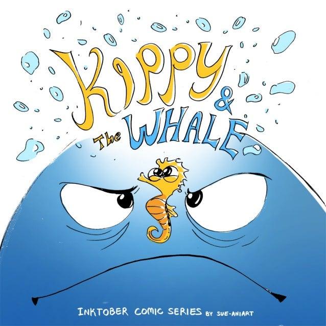 Kippy & the Whale (Inktober comic series)
