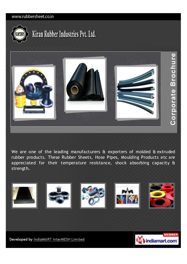 Kiran Rubber Industries Pvt Ltd Mumbai Butyl Rubber Sheets