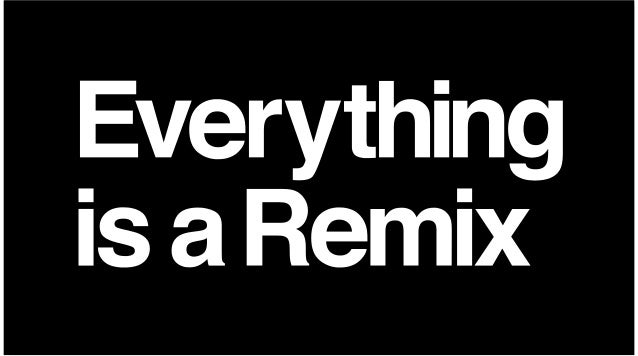 The CreativeTechnique SharesMany ImportantProperties Withthe Remix