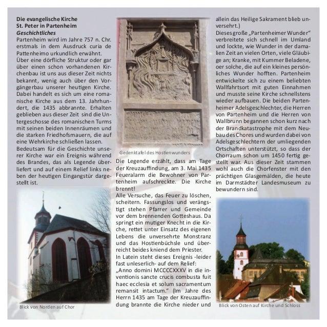 Evangelische Kirche St.Peter Partenheim Slide 3