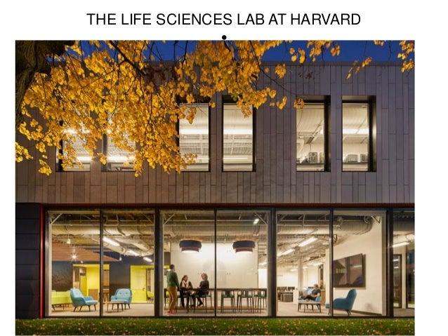 THE LIFE SCIENCES LAB AT HARVARD •