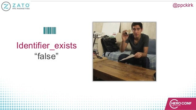 "Identifier_exists ""false"" @ppckirk"