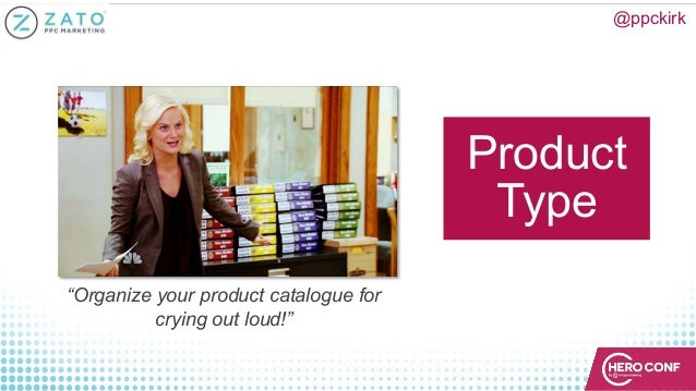 """@ppckirk Product Type """"Organize your product catalogue for crying out loud!"""""""