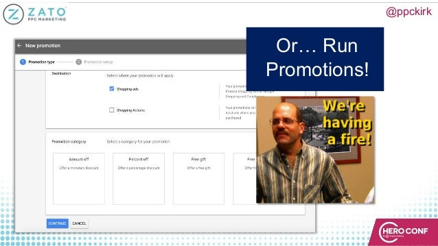 @ppckirk Or… Run Promotions!