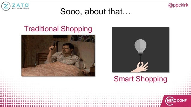 @ppckirk Sooo, about that… Traditional Shopping Smart Shopping