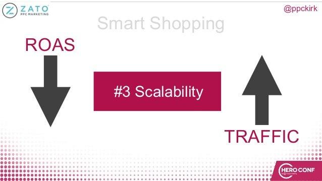 @ppckirk Smart Shopping #3 Scalability ROAS TRAFFIC