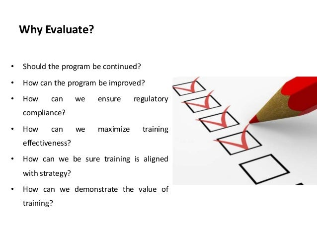 Kirkpatrick'S Levels Of Training Evaluation - Training And Development