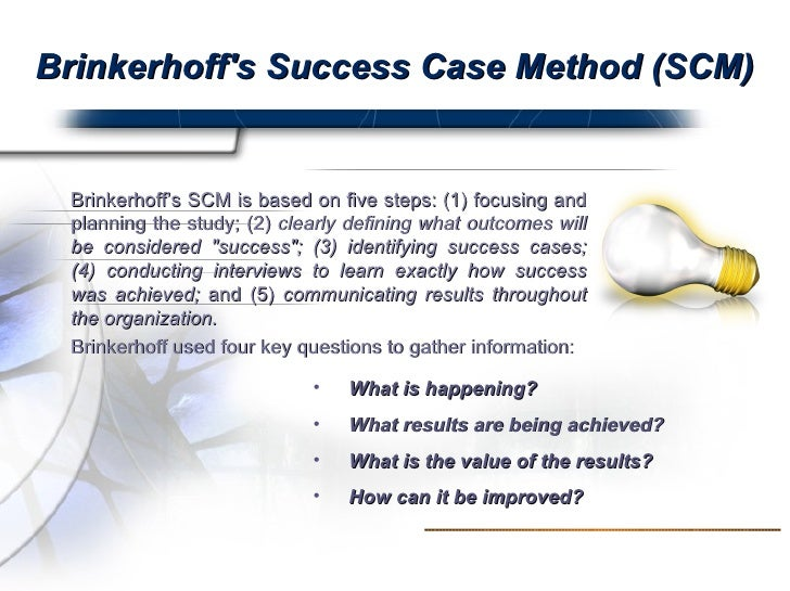 Case Study of   Level Evaluation