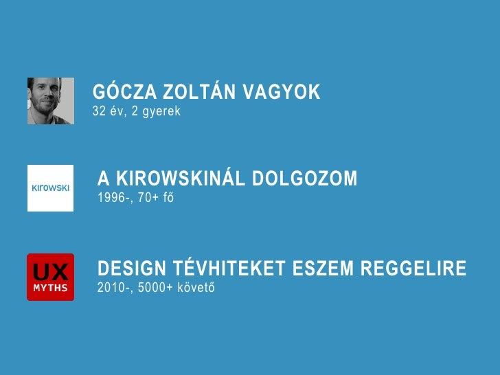 Kirowski - Gócza Zoltán - Beszéljenek a számok Slide 2