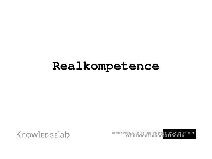 Realkompetence