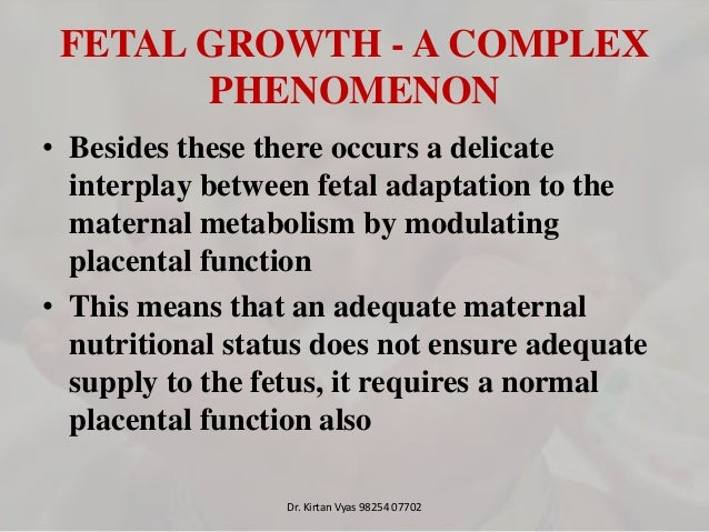 thesis on study of placental morphology in fetal growth restriction Full-text paper (pdf): comparison of placental morphology and histopathology of intrauterine growth restriction and normal infants.