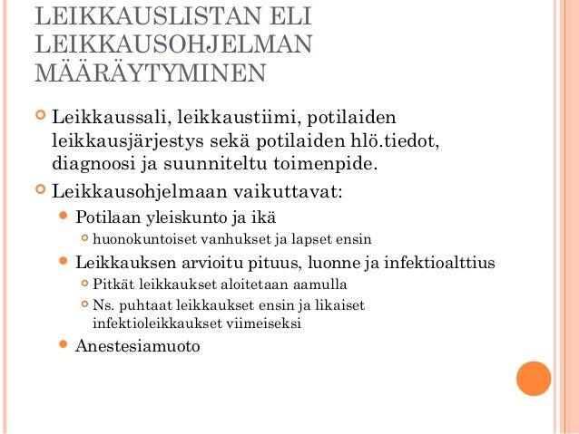 Asa-Luokitus