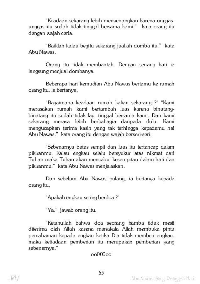Cerita Abu Nawas Lengkap Pdf