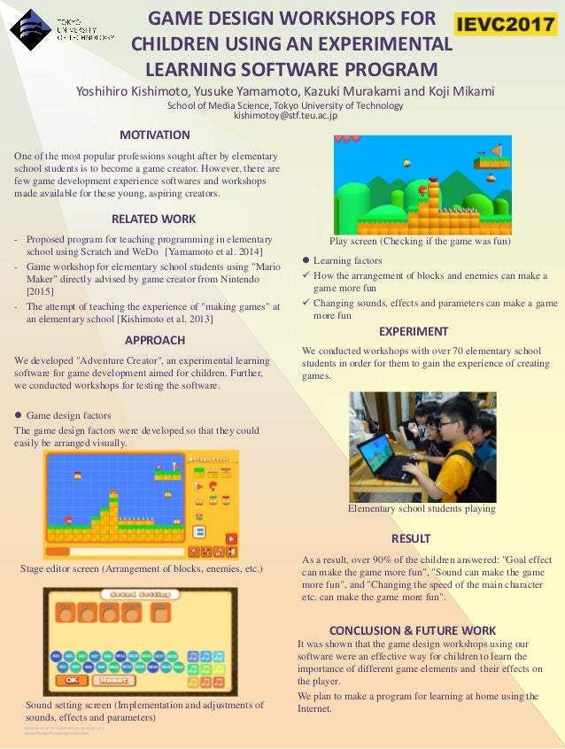 RESEARCH POSTER PRESENTATION DESIGN © 2015 www.PosterPresentations.com MOTIVATION RELATED WORK CONCLUSION & FUTURE WORK It...