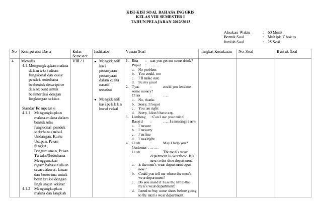 Kisi Kisi Soal Kewirausahaan Smk Kelas Xii Semester 1 Rar