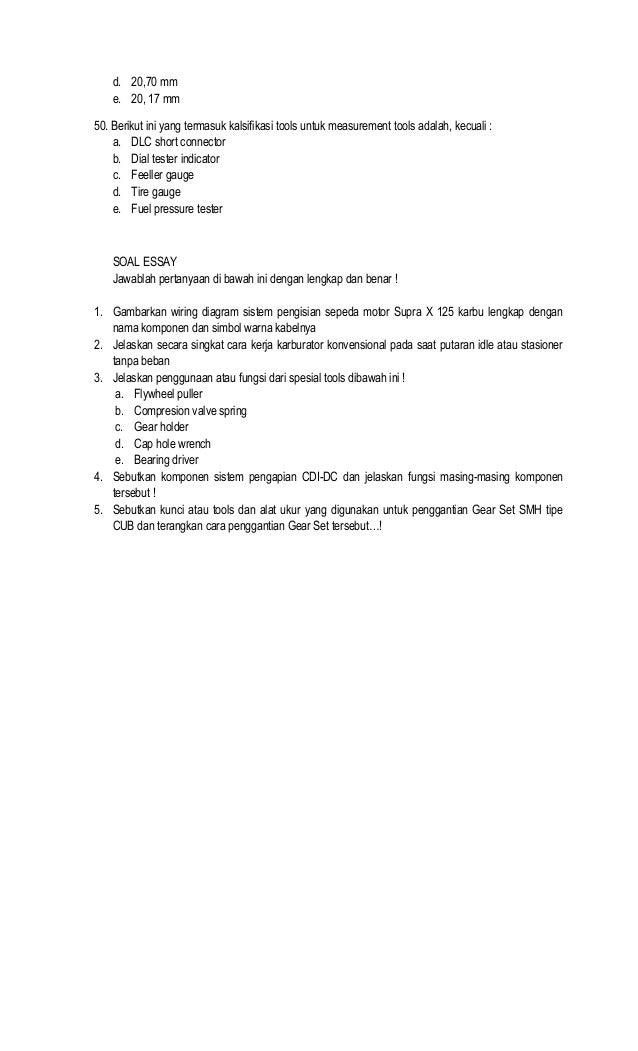kisi-kisi-soal-ujian-semester-xi-tsm-11-638 Wiring Supra X on
