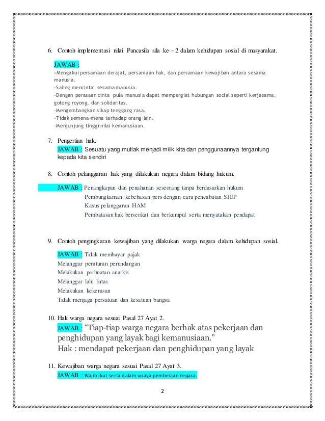 Kumpulan Soal Dan Pembahasan Pkn Semester 5