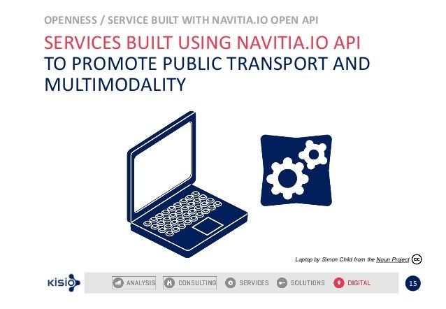 OPENNESS / SERVICE BUILT WITH NAVITIA.IO OPEN API 15 SERVICES BUILT USING NAVITIA.IO API TO PROMOTE PUBLIC TRANSPORT AND M...