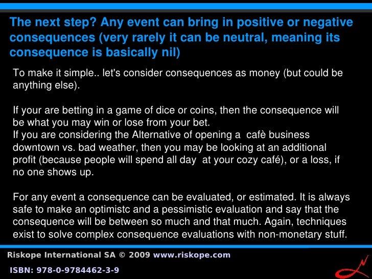 Thenextstep?Anyeventcanbringinpositiveornegative                 Examplesoftolerabilitycurves. consequences(...
