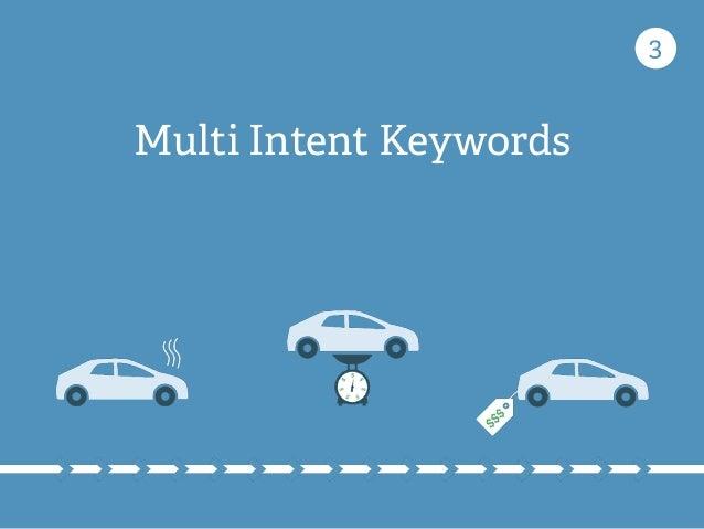 Multi Intent Keywords 3