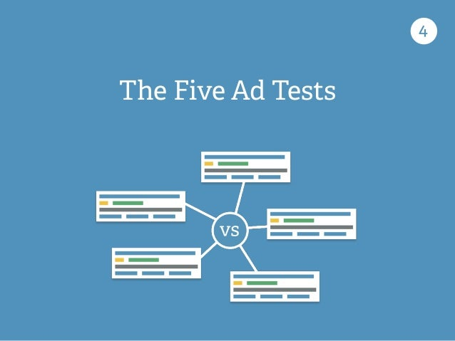 The Five Ad Tests 4