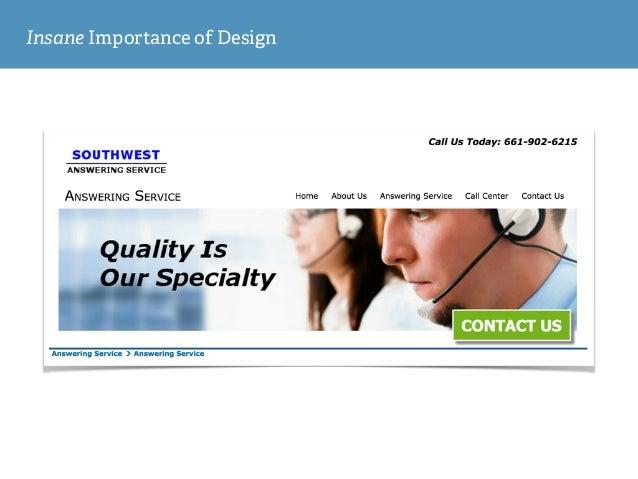 Insane Importance of Design