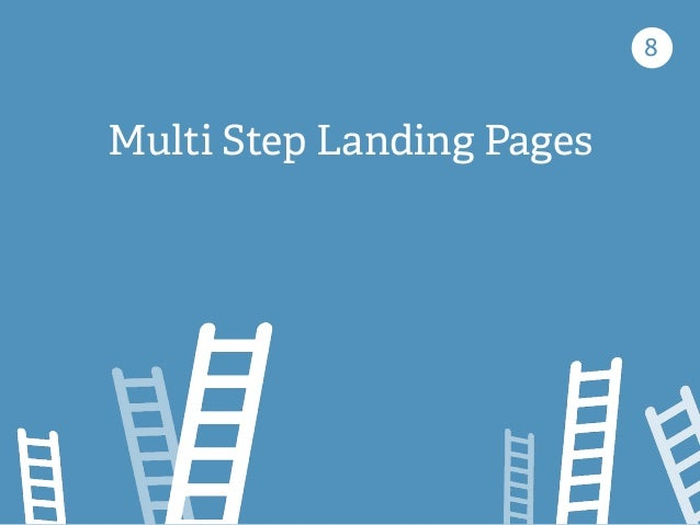 8 Multi Step Landing Pages