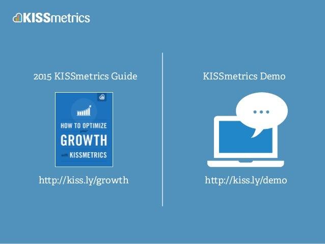 2015 KISSmetrics Guide KISSmetrics Demo h p://kiss.ly/growth h p://kiss.ly/demo