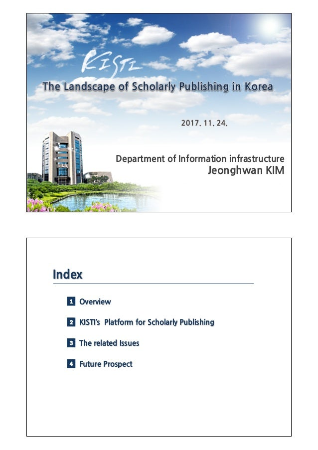 4 Future Prospect 4.1 Perspectives for OA Journals in Korea 2000 2005 2010 2015 2020 Science Attic (2003) - First pilot pr...