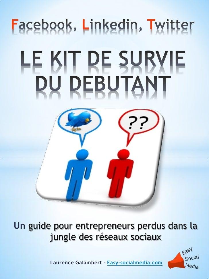 F                  L                       TUn guide pour entrepreneurs perdus dans la        jungle des réseaux sociaux  ...