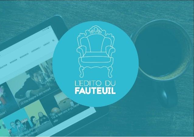 Depuis février 2014, Le Fauteuil, pour les intimes, est le webzine dédié à la créativité nantaise. On y parle publicité, d...