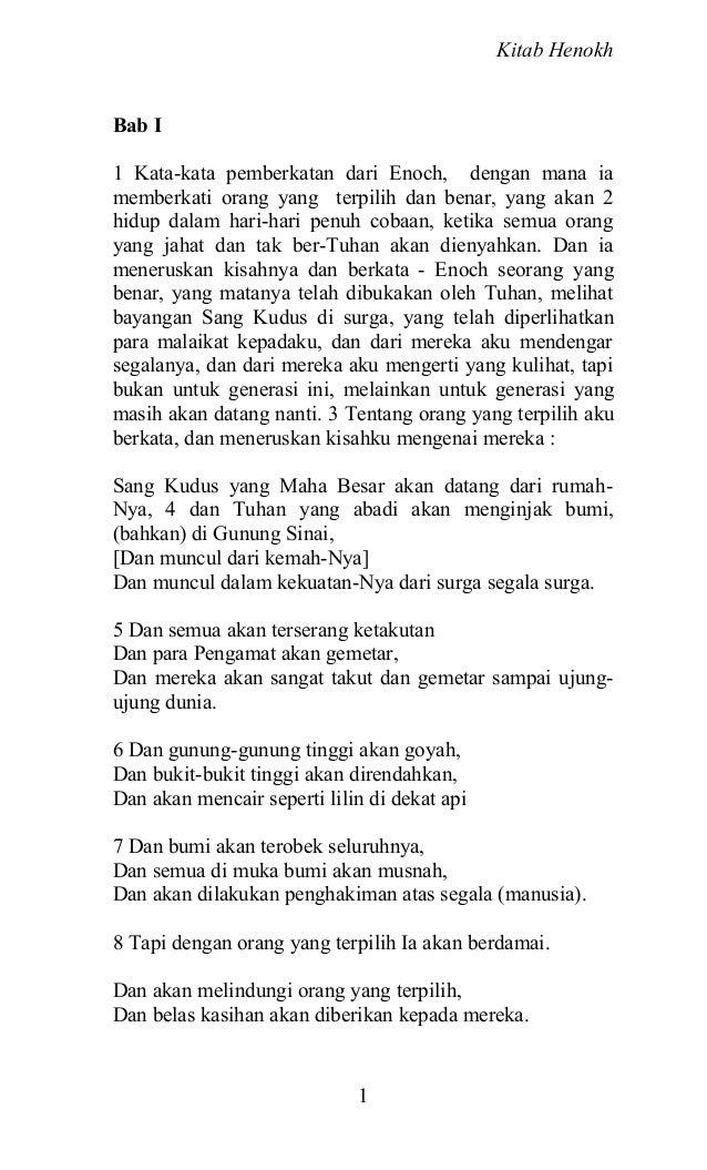 Kitab Henokh Slide 2