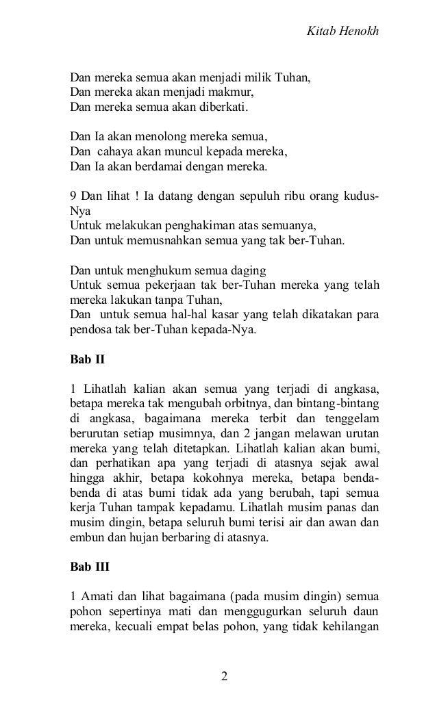Kitab Henokh Slide 3