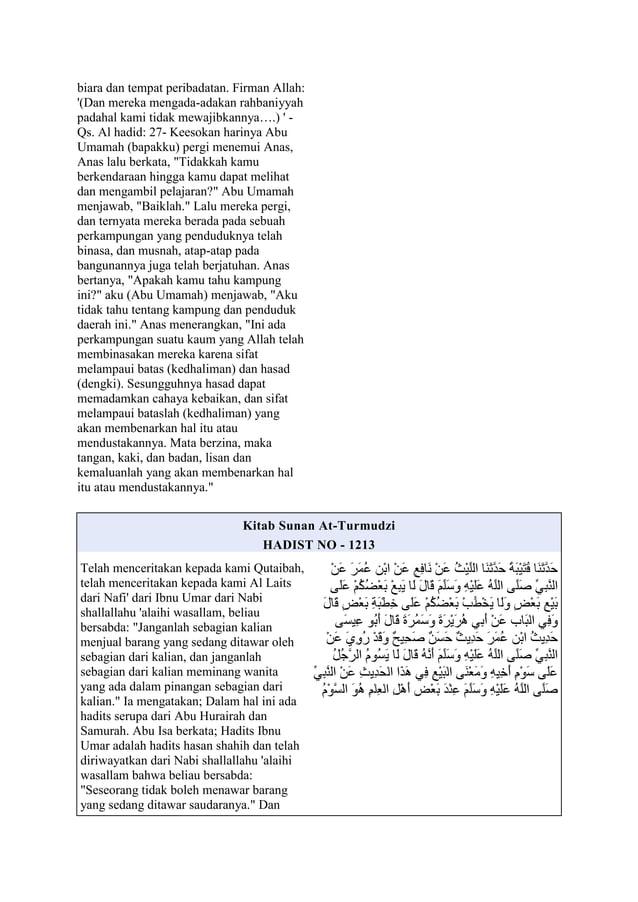 biara dan tempat peribadatan. Firman Allah:(Dan mereka mengada-adakan rahbaniyyahpadahal kami tidak mewajibkannya….)  -Qs....